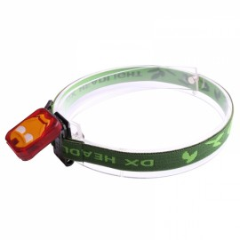 IRON MAN Ultra-light Infrared Sensors USB Rechargeable Clip Headlamp Cap Light COB LED Headlight Red & Orange & Black & Green