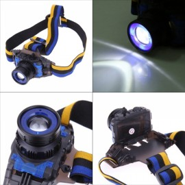 Q5 LED Waterproof Headlight Built-in Lithium Battery 3 Modes