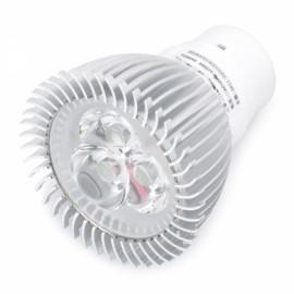DB-CE302 G5.3 3W 7000K 280LM White 3-LED Spot Light Bulb Silver & White (AC 89~265V)