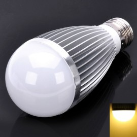 DB-CE703 E27 7W 665LM 3200K Warm White 7-LED Light Bulb Silver (85~265V)