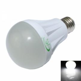 E27 7W 600lm 6500K 27-SMD 2835 LED White Light Bulb White (120-265V)