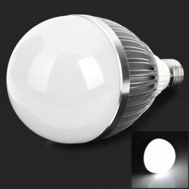 CF9536-15 E27 15W 1050lm 6000K 15-LED White Light Bulb White & Silver (AC 85-265V)