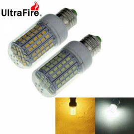2pcs Ultrafire E27 6W 720LM 96-SMD5730 LED Corn Light Bulb Whit/Warm White Light
