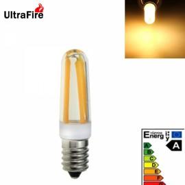 Ultrafire New E14 4W 4-LED 500LM 3200K Warm White Light LED Bulb (AC 220V) White & Yellow