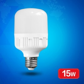 15W E27 220V Flat Head Constant Current Ultra Warm White Light Bulb