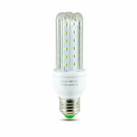 LED E27 7W U Shape Energy Saving Light Corn Lamp Bulb - Warm White