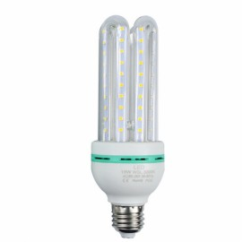 E27 16W LED U Shape Energy Saving Light Corn Lamp Bulb - Warm White