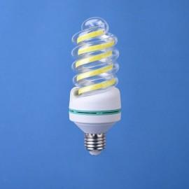 E27 5W LED Bulb COB Spiral Shape White Energy Saving Corn Light Lamp (AC85-265V)