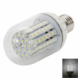 E27 8W 90-LED 2835 SMD White Light Corn Light with Jingyuan Chip (100-265V)
