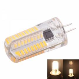 G4 4W 72-LED 4041SMD 3000-3500K Warm White Adjustable Silica Gel Corn Light (AC 110V)