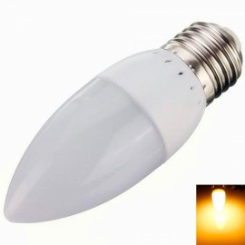 E27 3W 10 LED 2835SMD 2800K-3200K Warm White Light Cusp LED Candle Lamp