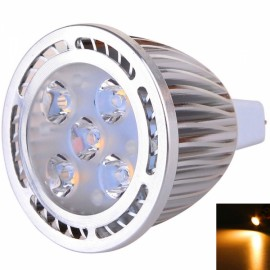 MR16 5W 5*3030SMD LED 2800-3200K Warm White Light High Brightness Spotlight (AC/DC 12V)
