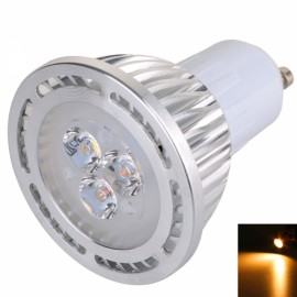 GU10 3W 3*3030SMD LED 2800-3200K Warm White LED Spotlight (AC 85-265V)