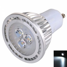 GU10 3W 3*3030SMD LED 6000-6500K White LED Spotlight (AC 85-265V)