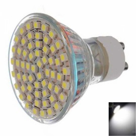 GU10 4.5W 60x3528SMD LED 6000-6500K White Spotlight (220V)