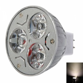 MR16 9W 3200K Warm White Light LED Spot Light Bulb (12V)