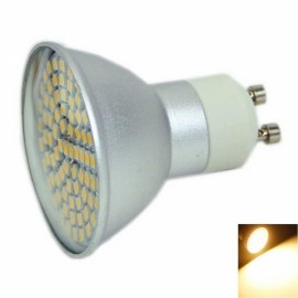 GU10 5W 80x3528SMD LED 2800-3200K Warm White Aluminum Casing Spotlight (220V)
