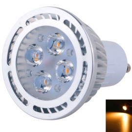 GU10 4W 4*3030SMD LED 2800-3200K Warm White LED Spotlight (AC 85-265V)