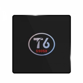 T6 Amlogic S905X Quad Core 1GB RAM 8GB ROM TV Box US Plug Black