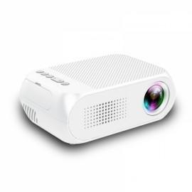 YG320 1080P HD Portable AV USB HDMI Video LED Mini Projector - EU Plug