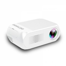 YG320 1080P HD Portable AV USB HDMI Video LED Mini Projector - US Plug