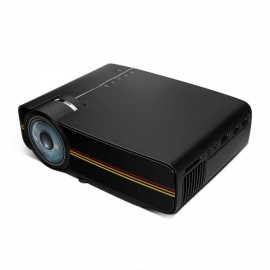 YG-400 LCD Mini 1080P 1000 Lumen LED Projector - Black US Plug1