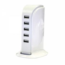 20W 5USB 4A Sailboat USB Strip - EU Plug