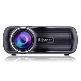 Uhappy U80 Full HD 1080P Home Mini Portable Multimedia Projector Black