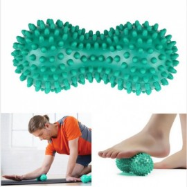 Peanut Shape Spiky Massage Yoga Ball PVC Trigger Point Therapy Stress Relief Spiky Massager Ball Random Color