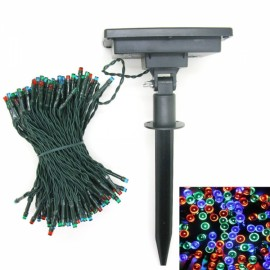 200 LED Solar Power String Light Indoor Outdoor Wedding Decor Colorized