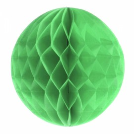 6'' 15CM Tissue Paper Pom Poms Honeycomb Ball Lantern Wedding Party Home Table Decor Fruit Green