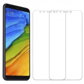 gocomma 2PCS Screen Protector for Xiaomi Redmi 5 Plus HD Full Coverage