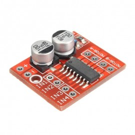 Dual Channel L298N DC Motor Driver Board PWM Speed Dual H Bridge Stepp