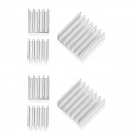 Minismile 6pcs Heatsink Heat Dissipation Panel Radiator for Raspberry