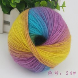 Sale 1 Ball x 50g NEW Knitting Yarn Chunky Hand Wool Colorful Scarves