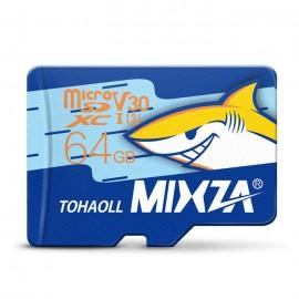 MIXZA TOHAOLL Ocean Series U3 64GB Micro SD Memory Card - COLORMIX 64G