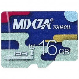 MIXZA TOHAOLL Colorful Series 16GB Micro SD Memory Card Storage Device