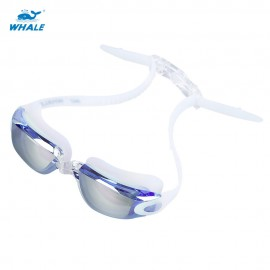 WHALE Adult Professional Swimming Water Resistant Anti Fog Silicone Go