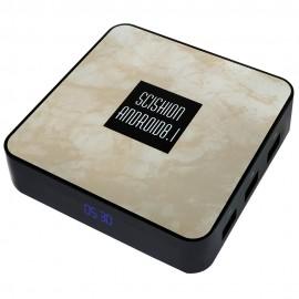 SCISHION RX4B TV Box Rockchip 3328 Android 8.1 4GB RAM + 32GB ROM 2.4G