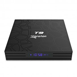 Zeroten T9 RK3328 4K HD TV Box 4GB / 64GB Smart Media Player for Andro
