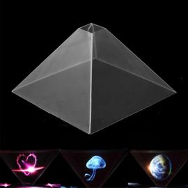 3D Holographic Projection Pyramid for Cellphone Transparent