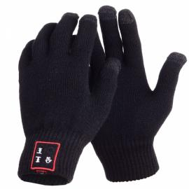 Cwxuan Smart Bluetooth Hands-free Gloves with Touch Screen Function Black
