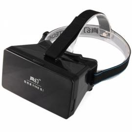 RITECH Virtual Reality VR 3D Magic Box 3D Glasses Smartphone Private Theater for iPhone Samsung Black