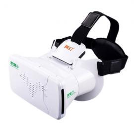 RITECH Riem III Head Mount Version 360-Degree VR Virtual Reality 3D Glasses White