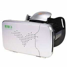 RITECH Riem III Head Mount Version 360-Degree VR Virtual Reality 3D Glasses Silver