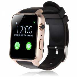 GT88 Waterproof Fitness Tracker Heart Rate Monitor SIM Card Bluetooth 4.0 Smart Watch for iPhone & Android Golden