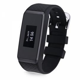 INCHOR Wristfit HR IP67 Waterproof Fitness Tracker Heart Rate Sleep Monitor Bluetooth Smart Wristband Black