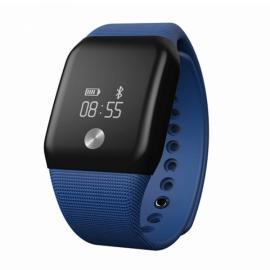 A88+ Bluetooth Smart Wristband Heart Rate Monitor Blood Oxygen Monitor Dark Blue