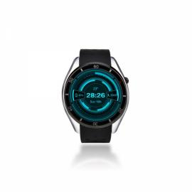 I3 MTK6580 Android 5.1 Bluetooth 3G SIM Card Smart Watch Silicone Band Silver