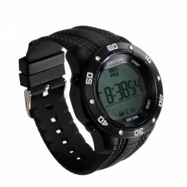 Xwatch 3ATM Waterproof 2-Year Ultra Long Standby Outdoor Sports Pedometer Bluetooth Smart Watch Black